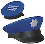 Police Cap Stress Balls